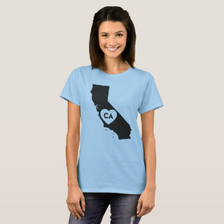 I Love California State Women's Basic T-Shirt