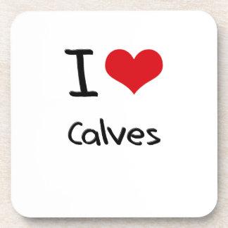 I love Calves Coasters