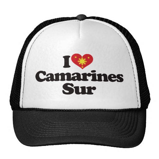I Love Camarines Sur Trucker Hats