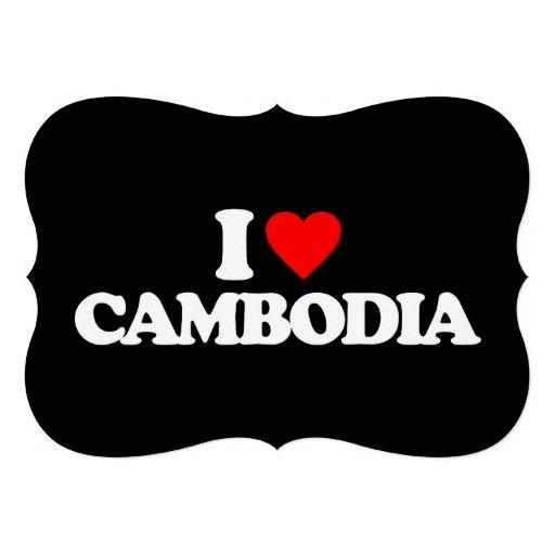 I LOVE CAMBODIA CARD