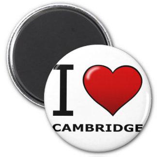 I LOVE CAMBRIDGE, MA - MASSACHUSETTS MAGNET