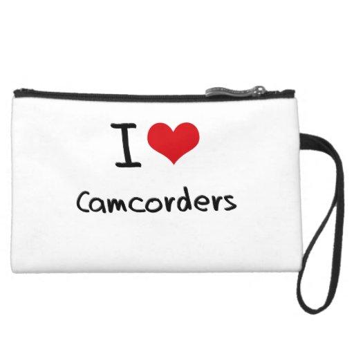 I love Camcorders Wristlet