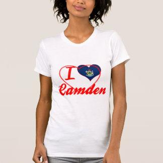 I Love Camden, Maine T Shirt