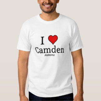 I love Camden T Shirts