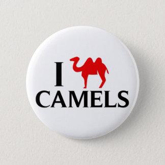 I Love Camels 6 Cm Round Badge