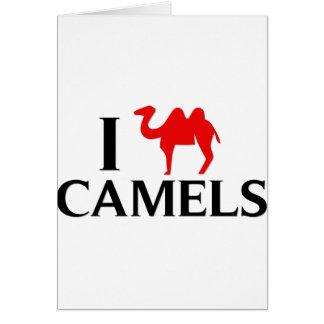 I Love Camels Card
