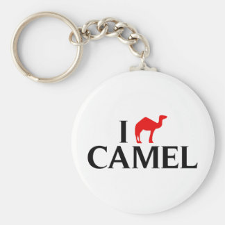 I Love Camels Key Ring
