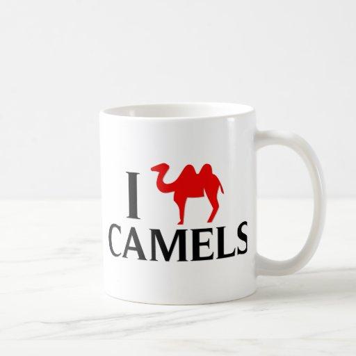 I Love Camels Mugs