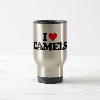 I LOVE CAMELS TRAVEL MUG
