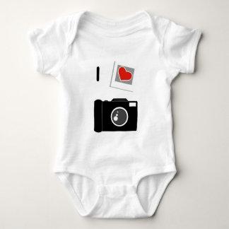 I Love Cameras Baby Bodysuit