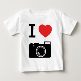 I love Cameras Baby T-Shirt