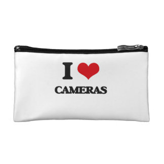I love Cameras Cosmetic Bag