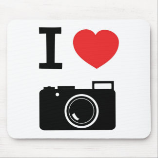 I love Cameras Mouse Mat
