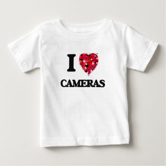 I love Cameras T Shirts