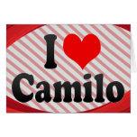 I love Camilo Cards