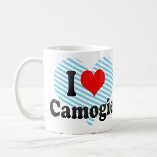 I love Camogie Basic White Mug