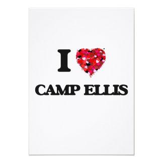 I love Camp Ellis Maine 13 Cm X 18 Cm Invitation Card