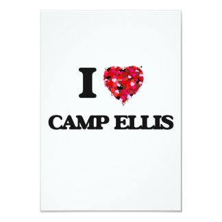 I love Camp Ellis Maine 9 Cm X 13 Cm Invitation Card