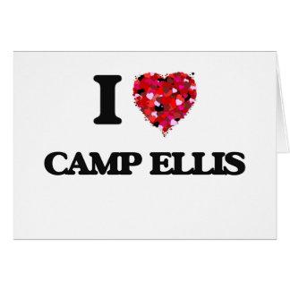 I love Camp Ellis Maine Greeting Card