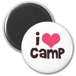I Love Camp Magnet