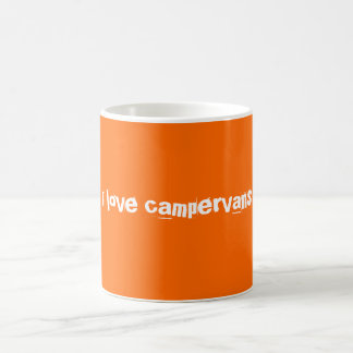 i love campervans mug