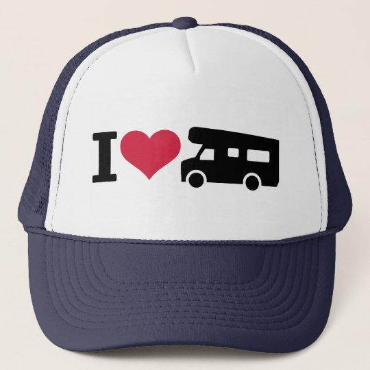 I love camping - camper cap