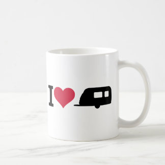 I love camping - caravan coffee mug