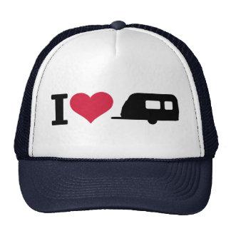 I love camping - caravan mesh hats