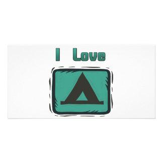 I Love Camping Card