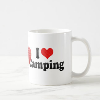 I Love Camping Coffee Mug