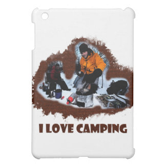 I Love Camping Frozen Toes iPad Mini Covers