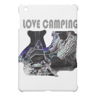 I Love Camping Grilling Case For The iPad Mini