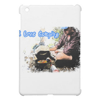 I Love Camping Iron Skillet iPad Mini Case
