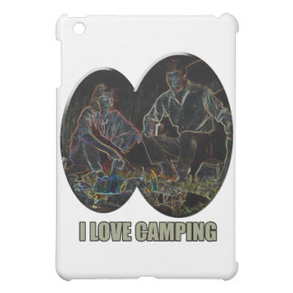 I Love Camping Scary Stories iPad Mini Cover