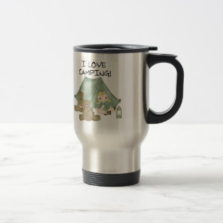I Love Camping Stainless Steel Travel Mug