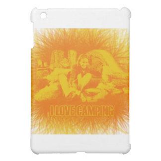 I Love Camping Sunny Days Cover For The iPad Mini