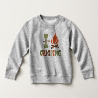I Love Camping Toddler Sweatshirt