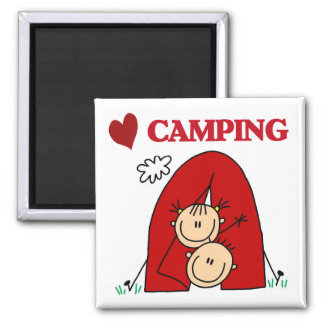 I Love Camping Tshirts and Gifts Magnet