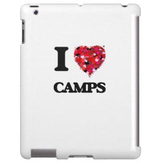 I love Camps iPad Case