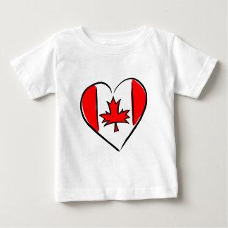 I Love Canada Baby T-Shirt