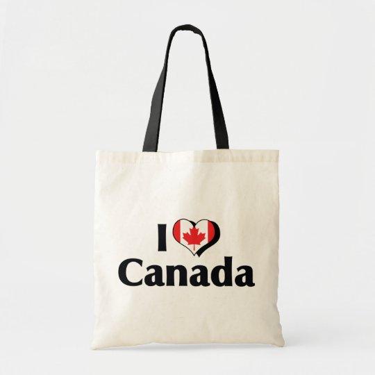 I Love Canada Flag