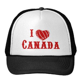 I Love Canada Mesh Hats