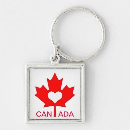 I Love Canada ~ July 1st Key Chain