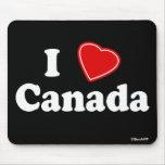 I Love Canada Mouse Mat