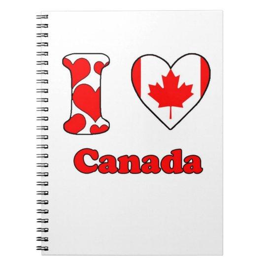 I love Canada Notebook