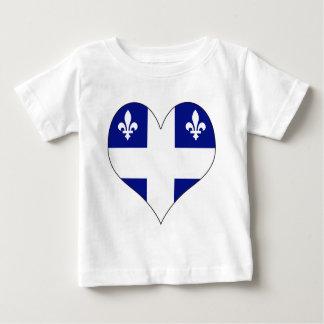 I Love Canada Quebec Baby T-Shirt