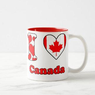 I love Canada Two-Tone Mug