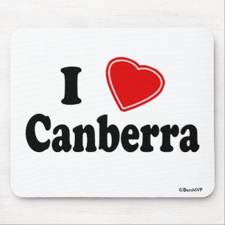 I Love Canberra Mousepad