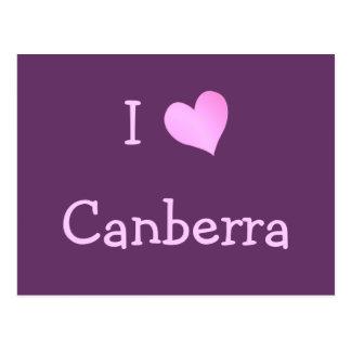 I Love Canberra Postcard