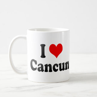 I Love Cancun, Mexico Coffee Mug